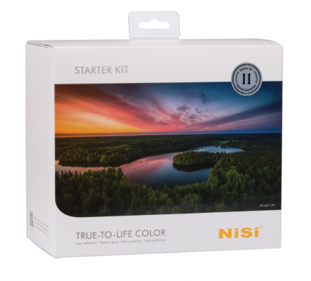 Nisi V5 Pro 100mm Starter Filter Kit - Gen II - with Enhanced Landscape C-PL