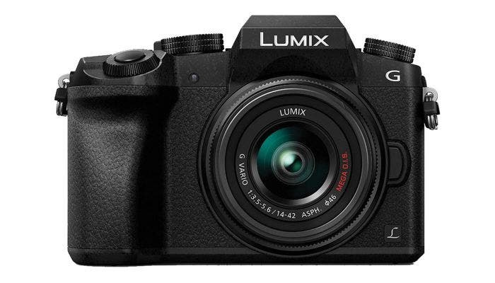 Panasonic Lumix G7 w/ 14-42mm f/3.5-5.6 Lens Black Compact System Camera