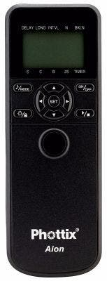 Phottix Aion Wireless Timer & Shutter Release Nikon/Canon/Sony Compatible