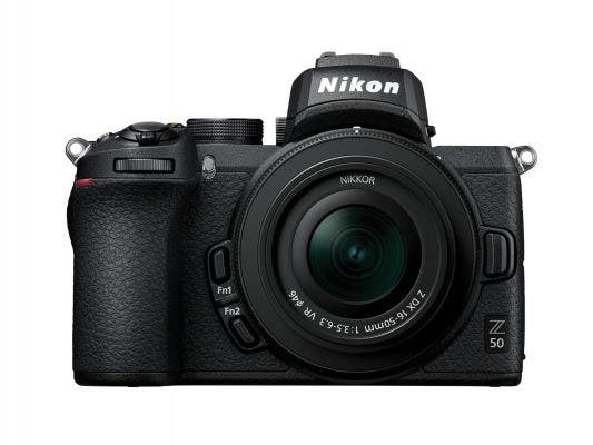Nikon Z 50 w/Nikkor Z DX 16-50 mm f3.5-6.3 VR Mirrorless Camera