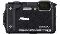 Nikon Coolpix W300 Black Digital Compact Camera w/Black Silicon Jacket