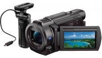 Sony FDRAX33 4K Digital Video Camera w/GP-VPT1 Shooting Grip