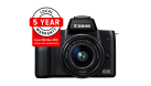 Canon EOS M50 w/EFM15-45mm f3.5-6.3 IS STM Lens - Compact System Camera