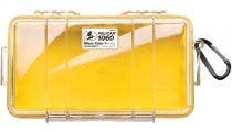 Pelican 1060 Micro Clear Case with Yellow Liner