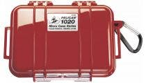 Pelican 1020 Micro Case - Red with Black Liner