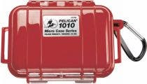 Pelican 1010 Micro Case - Red with Black Liner