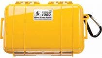 Pelican 1050 Micro Yellow Case with Black Liner