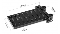 SmallRig Multi-purpose Mounting Plate with Clamp Rod 1093