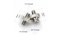 SmallRig Double Head Converter Screw Pack 1581