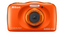Nikon Coolpix W150 Orange Digital Compact Camera