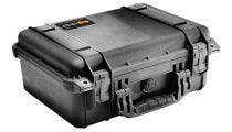 Pelican 1450 Black Case with Padded Dividers