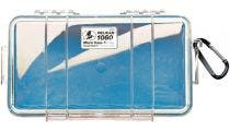 Pelican 1060 Micro Clear Case with Blue Liner