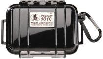 Pelican 1010 Micro Case - Black with Black Liner
