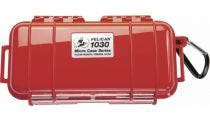 Pelican 1030 Micro Case - Red with Black Liner