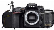Nikon D7500 w/AF-S DX 18-140mm Lens, Nikon Bag, Tripod & Battery Digital SLR Camera