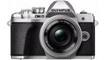 Olympus OM-D E-M10 Mark III Silver w/14-42mm EZ Lens Compact System Camera