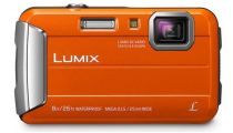 Panasonic Lumix FT30 Orange Digital Compact Camera