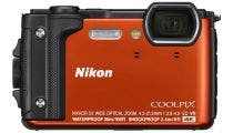 Nikon Coolpix W300 Orange Digital Compact Camera w/ Orange Silicone Jacket