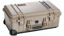 Pelican 1510 Desert Tan Carry On Case with Dividers