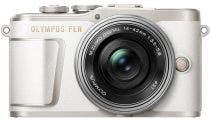 Olympus PEN E-PL9 White w/ 14-42mm EZ Lens Compact System Camera w/Bonus Accessory Pack