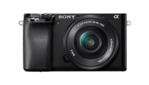 Sony Alpha A6100 Black w/NEX 16-50mm f/3.5-5.6 Lens Compact System Camera