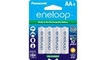 Panasonic Eneloop AA 2000mAh - 4 Pack Batteries Pre-Charged