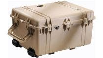 Pelican 1630 Desert Tan Case with Padded Dividers