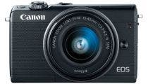 Canon EOS M100 Black w/EFM15- 45mm f3.5-6.3 IS STM Lens Compact System Camera