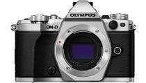 Olympus OM-D E-M5 II Silver w/ 14-42mm & 40-150mm Black lens Compact System Camera