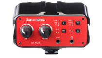 Saramonic SR-PAX1 Two Channel Audio Mixer, Preamp,Microphone Adapater