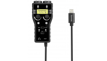 Saramonic SmartRig+Di Two- Channel Mic & Guitar Interface w/Lightning Connector for iOS
