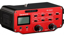 Saramonic SR-PAX2 Active 2- Channel Audio Adapter for DSLR Camera