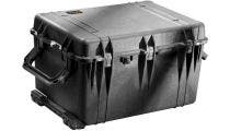 Pelican 1660 Black Case with Padded Dividers
