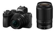 Nikon Z 50 w/Nikkor Z DX 16-50 mm f3.5-6.3 VR + 50-250mm f4.5 -6.3 VR Mirrorless Camera