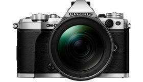 Olympus OM-D E-M5 Mark II w/ 12-40mm Lens Silver Compact System Camera