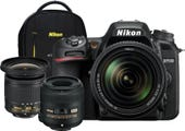 Nikon D7500 +/AF-S 18-140mm VR Lens,DX Landscape & Macro Kit, Bonus Backpack DSLR Camera