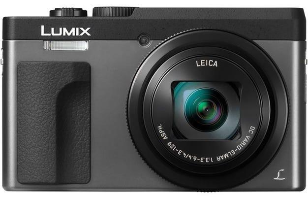 Panasonic Lumix TZ90 Silver Digital Compact Camera