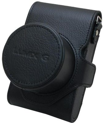 Panasonic DMW-CGK28E-K Leather Case