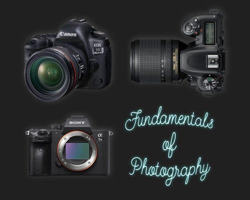 Fundamentals of Photography - 7 Mar 21 Loganholme   Camera House