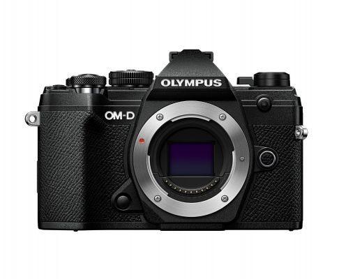 Olympus OM-D E-M5 Mark III Black w/12-45mm f/4 Black Lens Compact System Camera