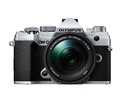 Olympus OM-D E-M5 Mark III Silver w/14-150mm Lens Compact System Camera