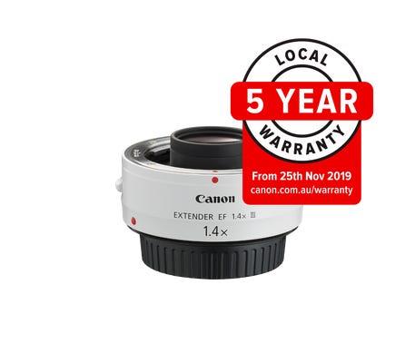 Canon EF 1.4x III Extender Lens