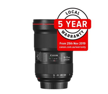 Canon EF 16-35mm f/2.8L III USM Wide Angle Lens