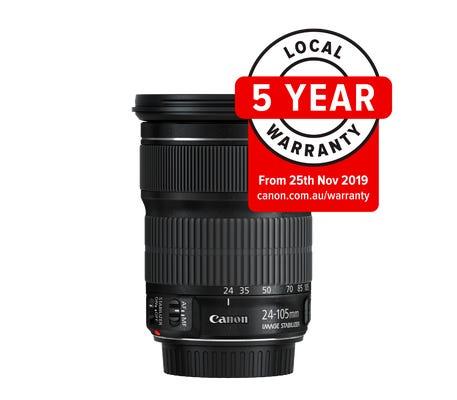 Canon EF 24-105mm f3.5-5.6 IS STM Lens