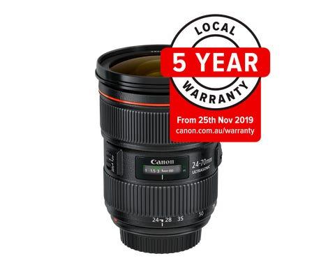 Canon EF 24-70mm f/2.8 L II USM Lens