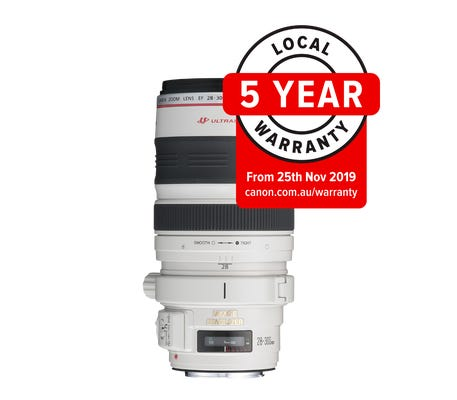 Canon EF 28-300mm f/3.5-5.6L IS USM Telephoto Lens