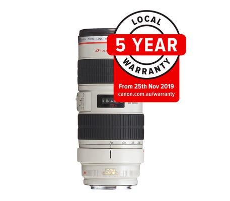 Canon EF 70-200mm f/2.8L USM Telephoto Lens