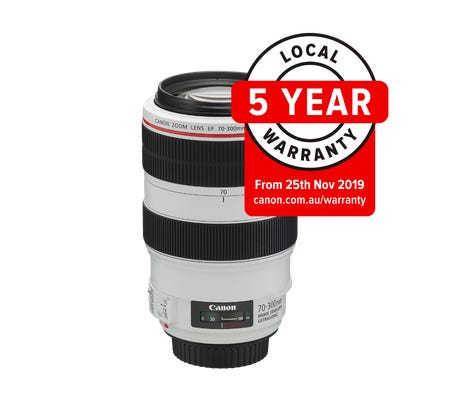 Canon EF 70-300mm f/4-5.6L IS USM Telephoto Lens