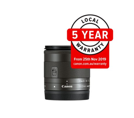 Canon  EF-M 11-22mm f/4-5.6 IS STM Wide Angle Lens