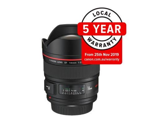 Canon EF 14mm f/2.8L II USM Wide Angle Lens